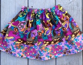 Girls Elastic Waist Boutique Style Twirl Skirt Size 2T 2 Toddler ready to ship