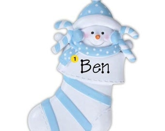 Personalized  Baby's First Christmas Ornament Baby present  Boy / Girl- Newborn, Baby Shower Gift