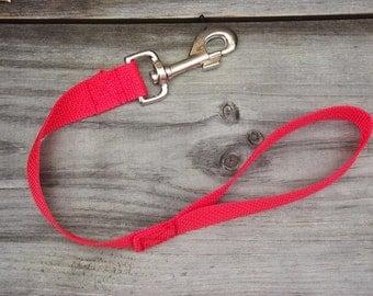 Training Leash Short Training Lead 10 Inch Short Close Leash for Training Dogs