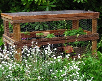S. J. Robson's Woodworking Plans – Stacking Garden Frames