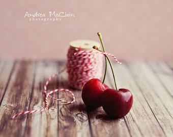 Cherries & Twine ~ 8x10 print