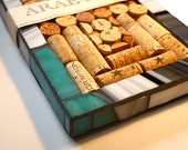 Ready to Ship - Wine Cork Message Board or Trivet