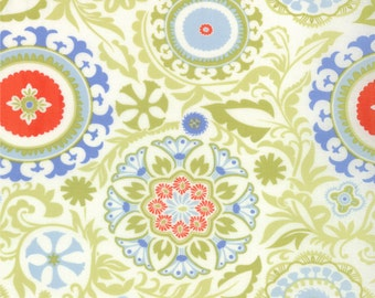 REMNANT! Celestial Print in Sprig from the Sunnyside Collection, by Moda, 1 yard