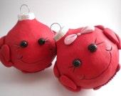Crab Christmas Ornaments