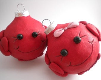 Crab Christmas Ornaments