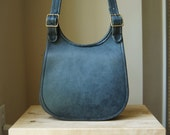 ON RESERVE - Authentic Pre-Creed Vintage Coach Small Hippie Bag - Made in NYC - Bonnie Cashin Era