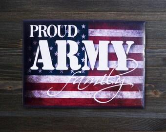Magent, Fridge Magnet, Proud Army Family Magnet