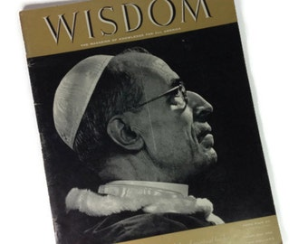 Pope Pius XII Special Edition, Wisdom Magazine, November 1957