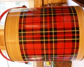 Vintage Plaid Skotch Kooler Ice Chest price reduced