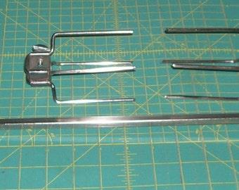 Vintage Farberware Spit Rod & Spit Forks