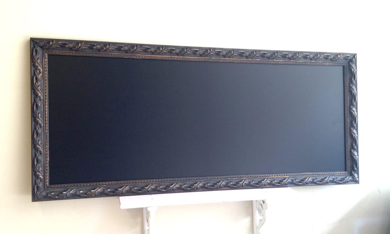 Kitchen Message Board Tall Narrow Kitchen Chalkboard Long Bulletin Board Message