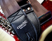 The Tobacco Brown Recycled Seatbelt Guitar Strap