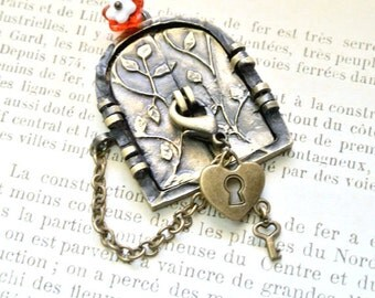 Door Necklace ,Fairy Wish Door Necklace
