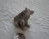 Pewter Bear Miniature