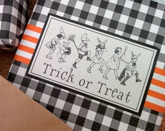 Vintage Style Halloween Labels or Tags