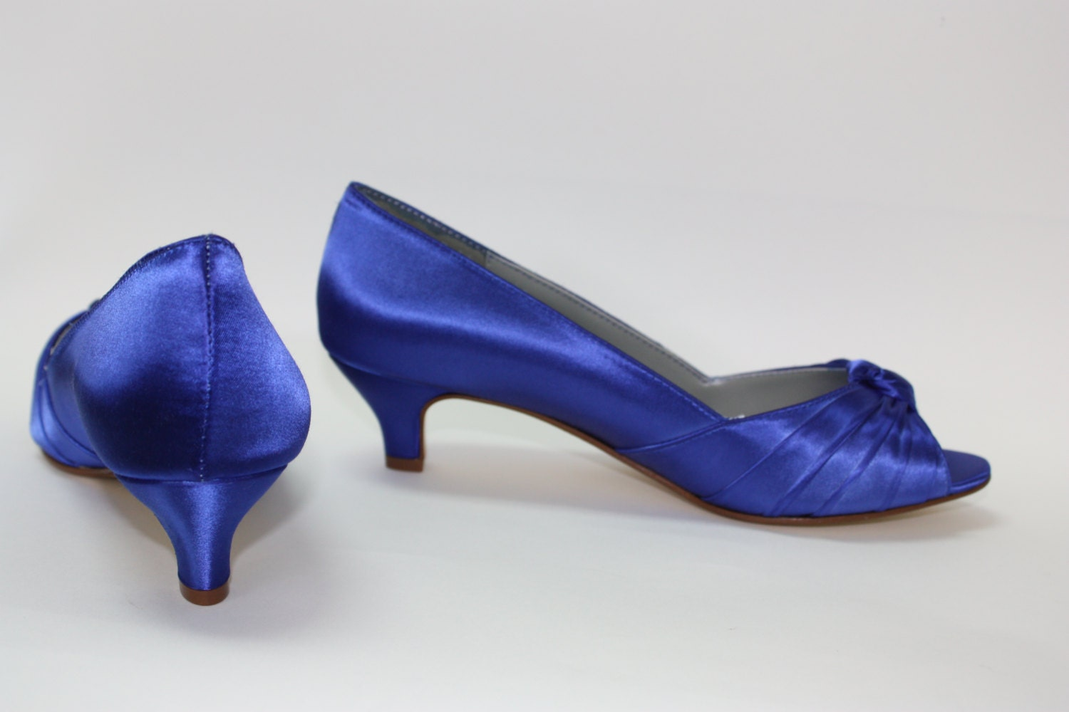 Royal Blue Wedding Shoes Choose From Over 100 Colors By Parisxox