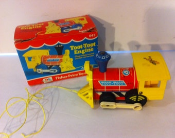 Fisher Price Toot Toot Engine