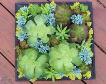 Artificial Succulent Wall Hanging Decoration