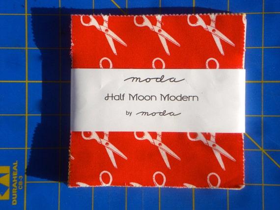 Half Moon Modern Moda Charm Pack OOP HTF