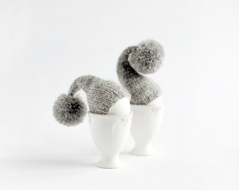 SALE 10% OFF Set of 2 knitted egg warmers