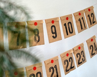 Advent Calendar diy kit by renna deluxe