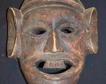 Ritual Mask From Bhutan