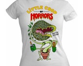 Little Crop Of Horrors Horrors on Various colours of Ladies T-shirt S M L XL
