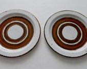 Earth Stonehenge by Midwinter Made in England Lot of 2 Bread or Dessert Plates
