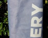 RBEF Recycled, Upcycled, Repurposed Donor Tote Bag: Very