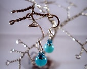 Sparkling Silver Earring Tree