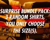 ANIME MYSTERY BOX! 3 T-Shirt Grab Bag