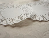 20 French Lace Paper Doilies 11.4cm or 4.5inch - Baked Goods Wedding Craft Scrapbooking