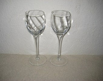 Vintage Cordial Glasses - Set of Two (2)