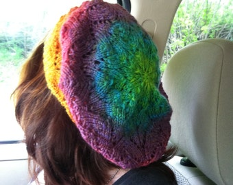 Fill in the Blank Slouchy Hat Knitting  PATTERN
