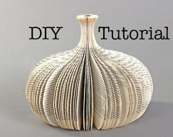 Tutorial: DIY cutting a book sculpture