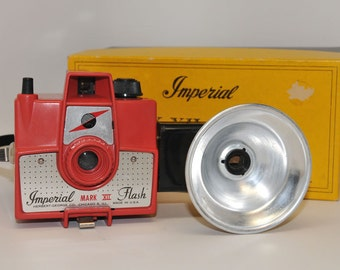 RED Imperial Mark XII Camera Outfit with flash in Original Box