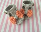 Baby shoes, crochet baby sandals, summer sandals, crochet baby shoes, Custom baby booties, baby accessories, newborn shoes