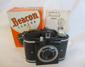 Beacon II 1940's Camera with Manual/Box