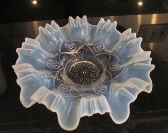 Opalescent Bowl c.1930's by Gatormom13