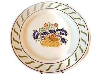 Decorative Transferware Della Robia Plate