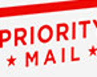 Upgrade to Priority USPS service