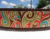 """Large Dog Collar 1.5"""" width side release buckle adjustable Bella - martingale style is cost upgrade"""