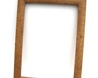 Rustic Brown Wood Frame - Country Home Decor Picture Frame - Custom Framing