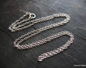 Sterling 1.5 mm Cable Chain --- 16 inches