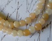 Destash Beads, 16 inch Strand, 4mm, Pink Aventurine and Quartz, Clear, White, Peach, DESTASH AVENTURINE QUARTZ,