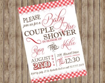 Baby Que Baby Shower Invitation Printable