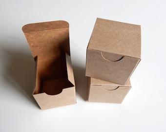 25 - 2x2x2 Kraft Gift Box
