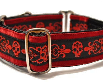 Danger Dog Jacquard Martingale Collar - 1.5 Inch