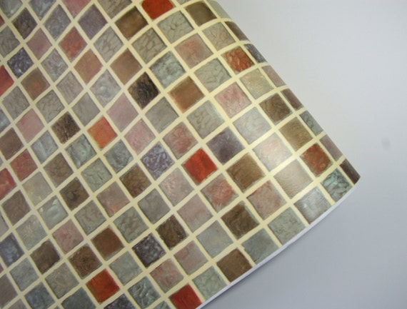 Items similar to Mosaic Tile 3m * MT-221 Interior Sheet Vinyl Self Adhesive Peel-Stick Wallpaper ...