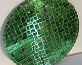 Stained Glass Mosaic Spring Green Housewares Home Decor Wall Decor Wall Hanging